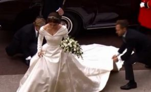 Casamento real: Eis as primeiras imagens da noiva