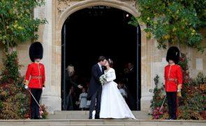 Casamento de Eugenie de York e Jack Brooksbank As curiosidades que marcam o segundo matrimónio real britânico do ano