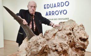 Óbito: Morreu Eduardo Arroyo