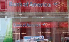 Lucro do Bank of America sobe 35% para 16.955 milhões de euros até setembro