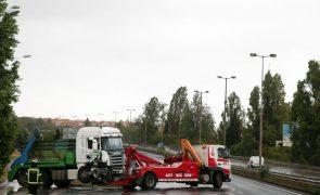 Detido condutor de camião que circulou em contramão na Segunda Circular