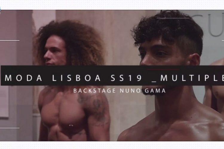 Nuno Gama pôs o público a desfilar (vídeo)