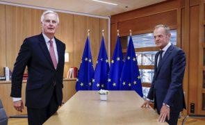 Brexit: Barnier reconhece que