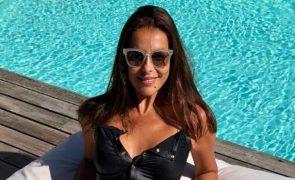 «Realmente Deus foi benevolente» Catarina Furtado aparece com fato de banho colante e deixa fãs em delírio