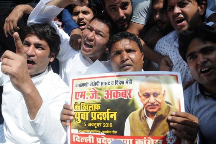Demissão de ministro indiano acusado de assédio sexual