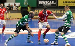 Benfica e Sporting defrontam-se na última ronda no grupo da 'Champions' de futsal