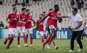 Benfica chega ao final da partida com vitória por 3-0 sobre o Sertanense [vídeos]