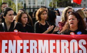 Adesão à greve dos enfermeiros nos 100% em dezenas unidades funcionais do Porto, Viseu e Faro