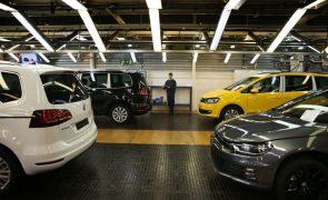 Produção automóvel em Portugal cresce 87,3% até setembro para 219.792 unidades
