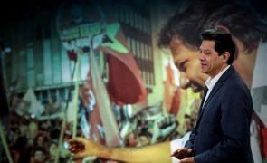 Brasil/Eleições: Haddad denuncia pacto de difamação entre Bolsonaro e empresários
