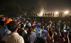 Pelo menos 60 mortos em atropelamento ferroviário na Índia - novo balanço