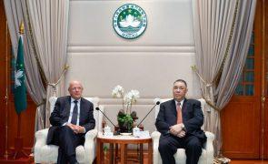 Portugal e China estão a ultimar memorando de entendimento