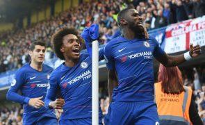 Chelsea empata na receção ao Manchester United no último minuto