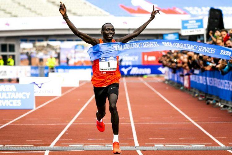 Queniano Cherono vence Maratona de Amesterdão com recorde