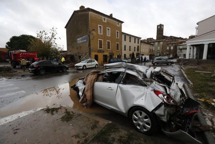 Prejuízos das inundações no sul de França calculados em 200 milhões de euros