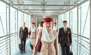 Emirates procura tripulantes de cabine em Portugal