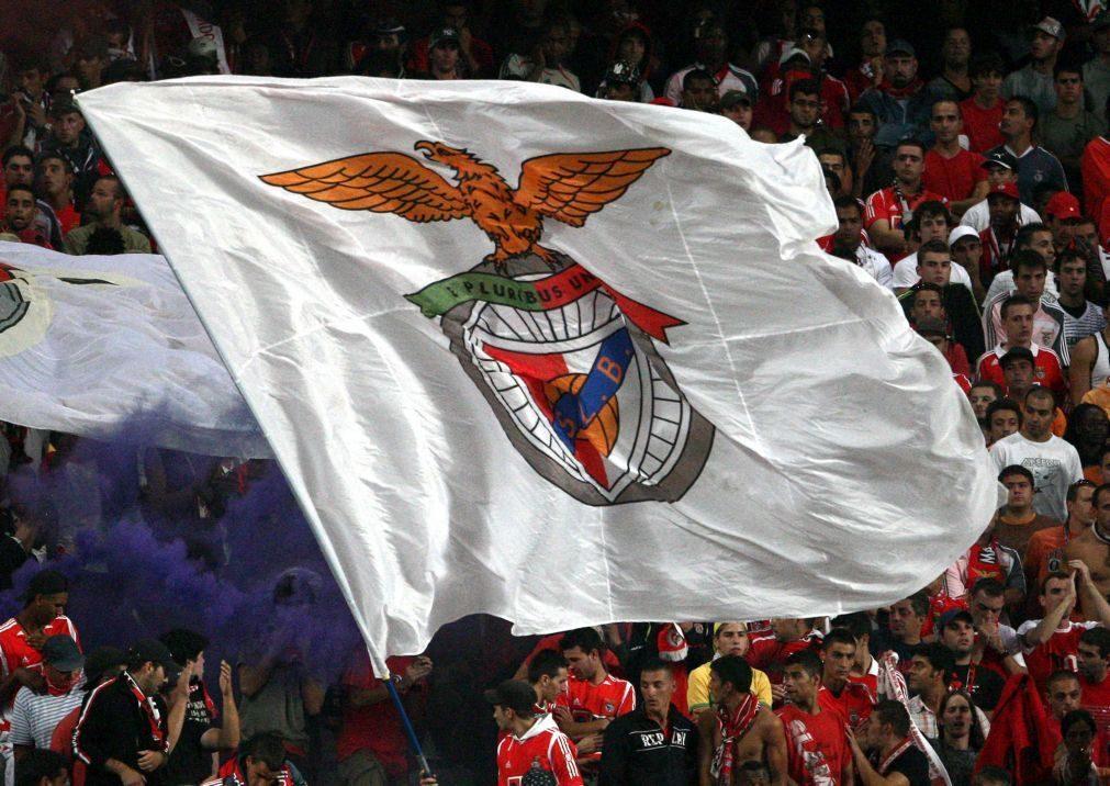 Membros de claque do Benfica detidos antes de jogo frente ao Sporting