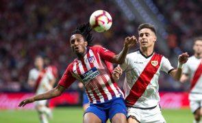 Gelson Martins de regresso aos convocados no Atlético Madrid