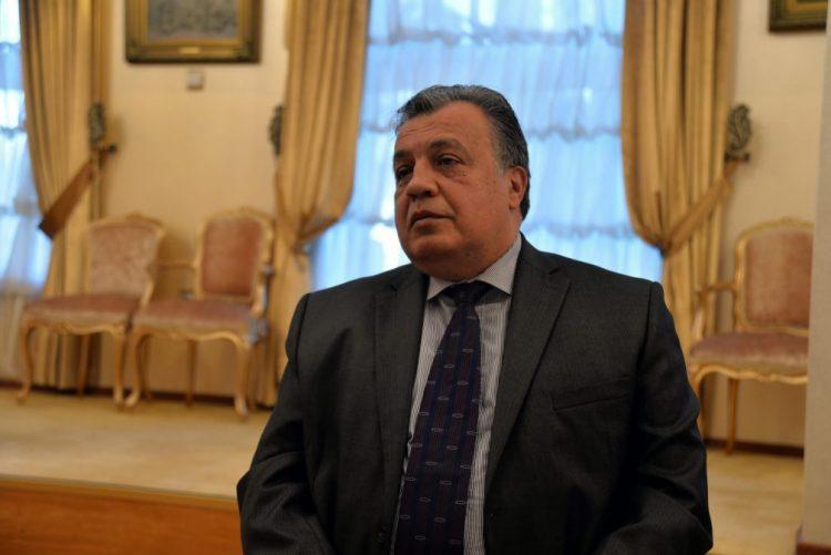 Atacante do embaixador russo gritou