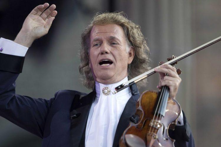 Violinista André Rieu esgota três concertos em Lisboa e acrescenta nova data