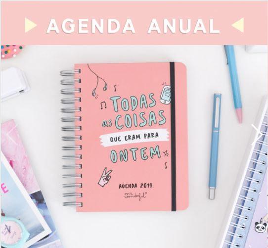 Mr Wonderful: As novas agendas e calendários já chegaram