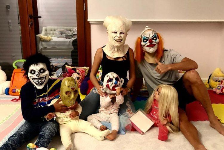 É assim que se celebra o Halloween em casa de Ronaldo e Georgina