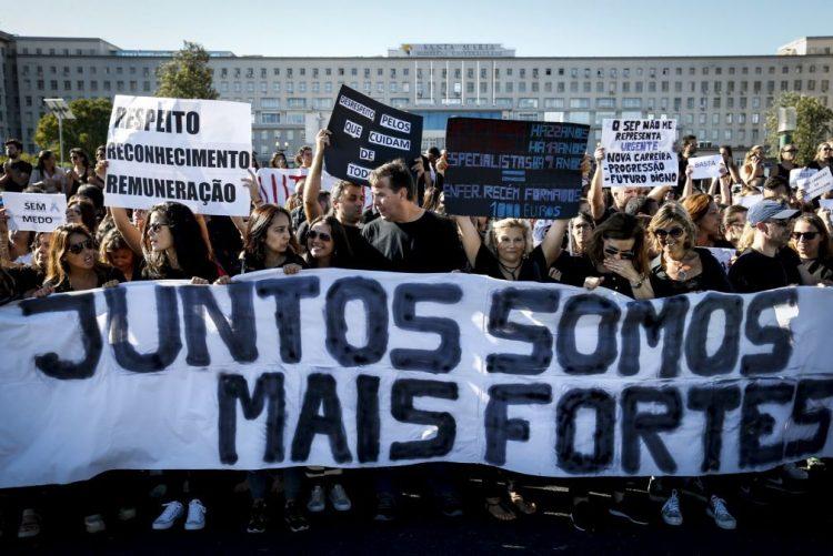 Enfermeiros marcam greve de 22 de novembro a 31 de dezembro