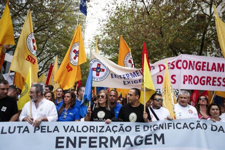 Sindicatos que convocaram greve de enfermeiros entregaram nova proposta à tutela