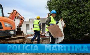 Polis avança com demolições de casas ilegais na Ria Formosa