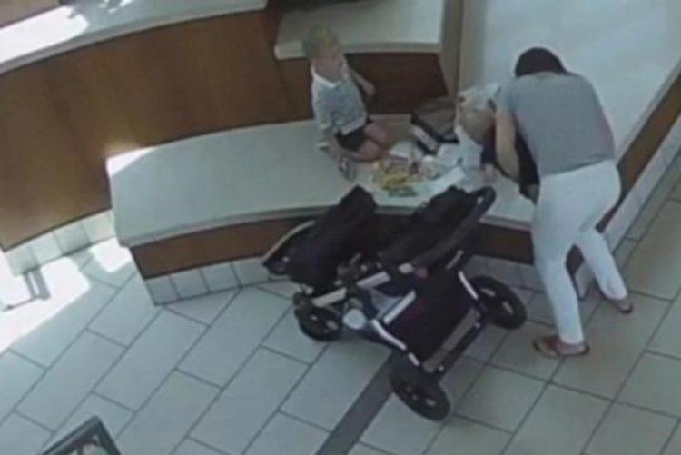 Polícias salvaram bebé de morrer engasgado com nugget