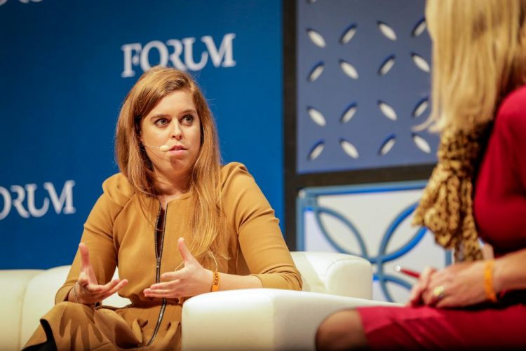 WebSummit: Princesa Beatrice de York esteve em Portugal