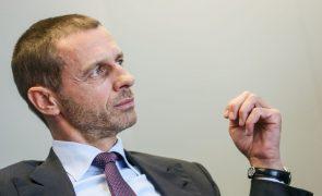 Alexander Ceferin é o único candidato à reeleição para a presidência da UEFA