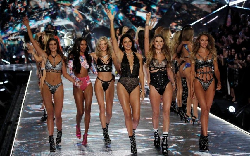 Portuguesas brilham na passerelle no desfile de lingerie da Victoria's Secret