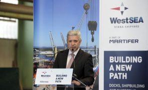 Participada da Martifer vai construir dois navios no valor de 118 milhões de euros
