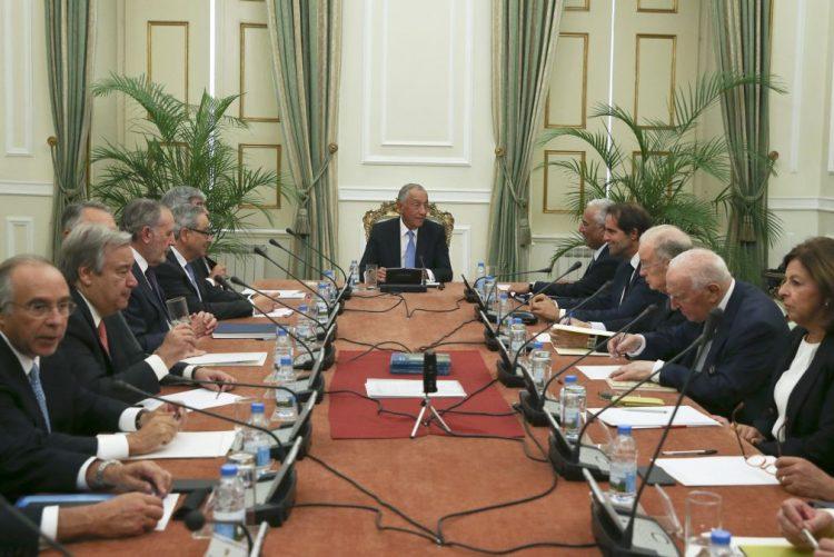 Presidente da República reúne Conselho de Estado sobre futuro da Europa
