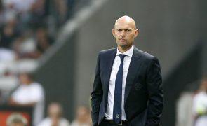 Holandês Marcel Keizer, novo treinador do Sporting, já está em Lisboa