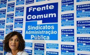 Frente Comum exige reinício das negociações sobre aumentos salariais