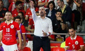 Joel Rocha vê Benfica com qualidade para vencer Liga dos Campeões de futsal