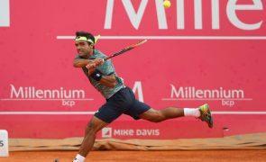 Tenista Frederico Silva qualifica-se para a segunda ronda do torneio de Bangalore