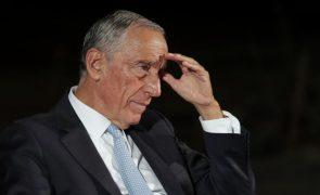 Marcelo afirma que opções do Governo levaram ao adiamento de investimento público estruturante