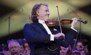André Rieu marca novo concerto em março em Lisboa com quatro datas anteriores esgotadas