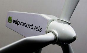 EDP Renováveis vende mais 13,4% de projeto eólico 'offshore' no Reino Unido por 62 ME
