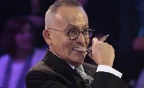 Manuel Luís Goucha surpreende o público Apresentador ajoelha-se e faz pedido inesperado!