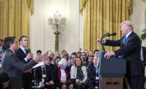 Juíz obriga Casa Branca a devolver credenciação a jornalista da CNN afastado