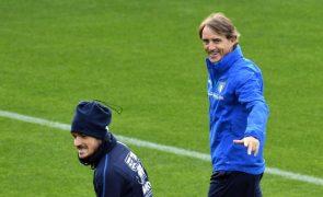 Mancini diz que Portugal continua a ser