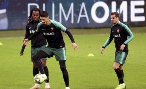 José Fonte rende Pepe num 'onze' de Portugal sem surpresas