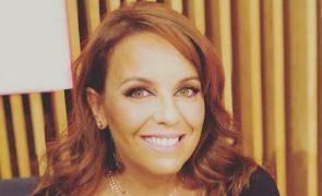 Tânia Ribas De Oliveira Apresentadora obrigada a afastar-se da televisão
