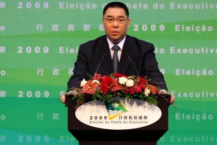 Chefe do Governo de Macau confiante em crescimento da economia no próximo ano