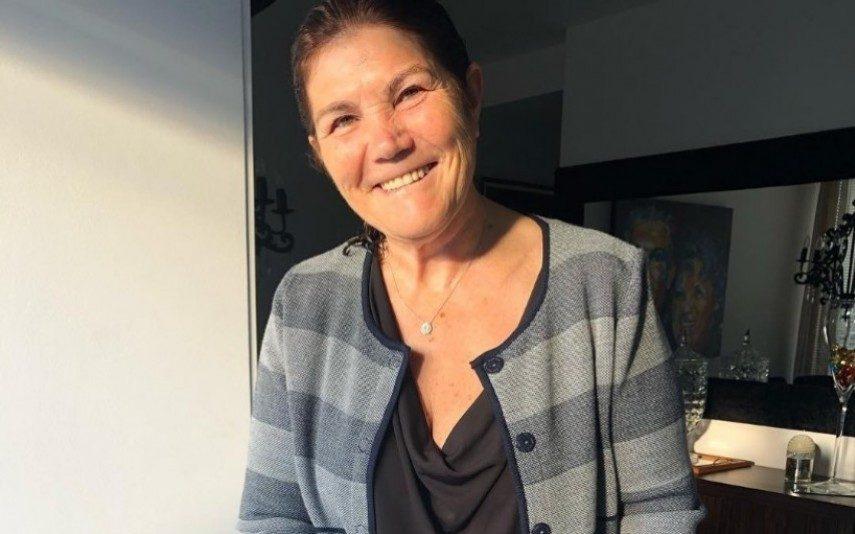 Dolores Aveiro «bem acompanhada» pelo ex-namorado da filha Katia Aveiro