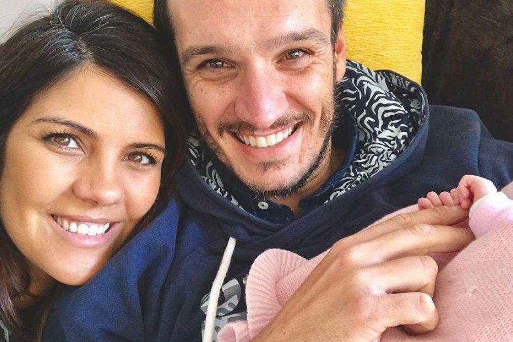 Lara Afonso regressa ao trabalho depois de ter sido mãe